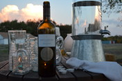 farm to table dinner sunset