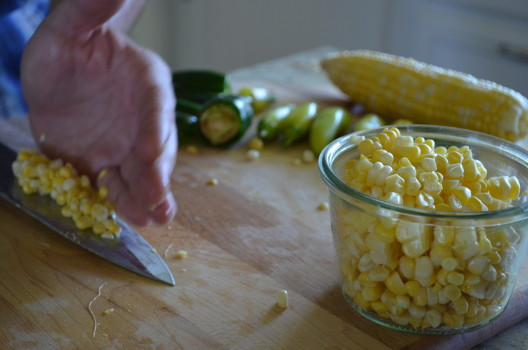 vegetarian chili corn